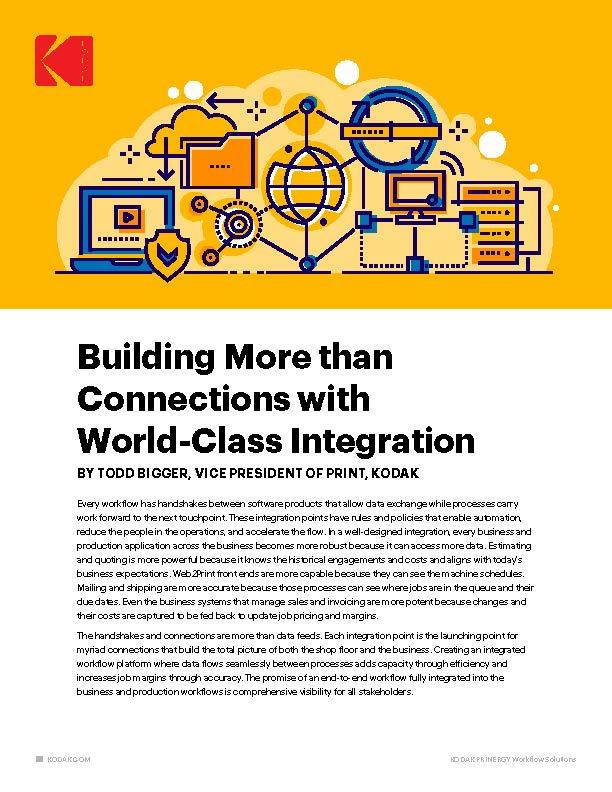 Building More than Connections with World-Class Integration cover