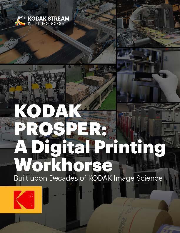 KODAK PROSPER: A Digital Printing Workhorse cover