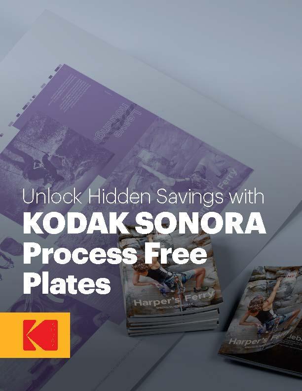 Unlock Hidden Savings with KODAK SONORA Process Free Plates white paper cover