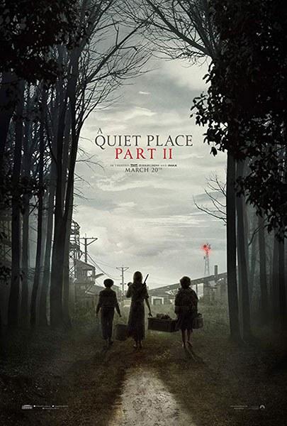 A Quiet Place Part II film poster