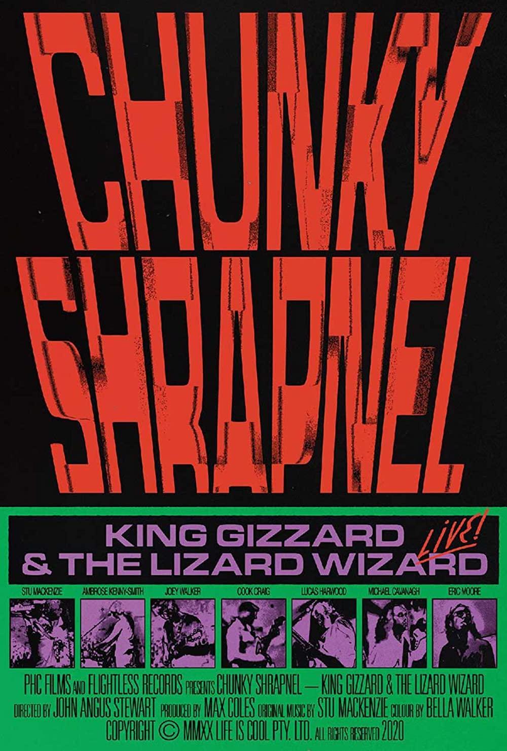 Chunky Shrapnel film poster