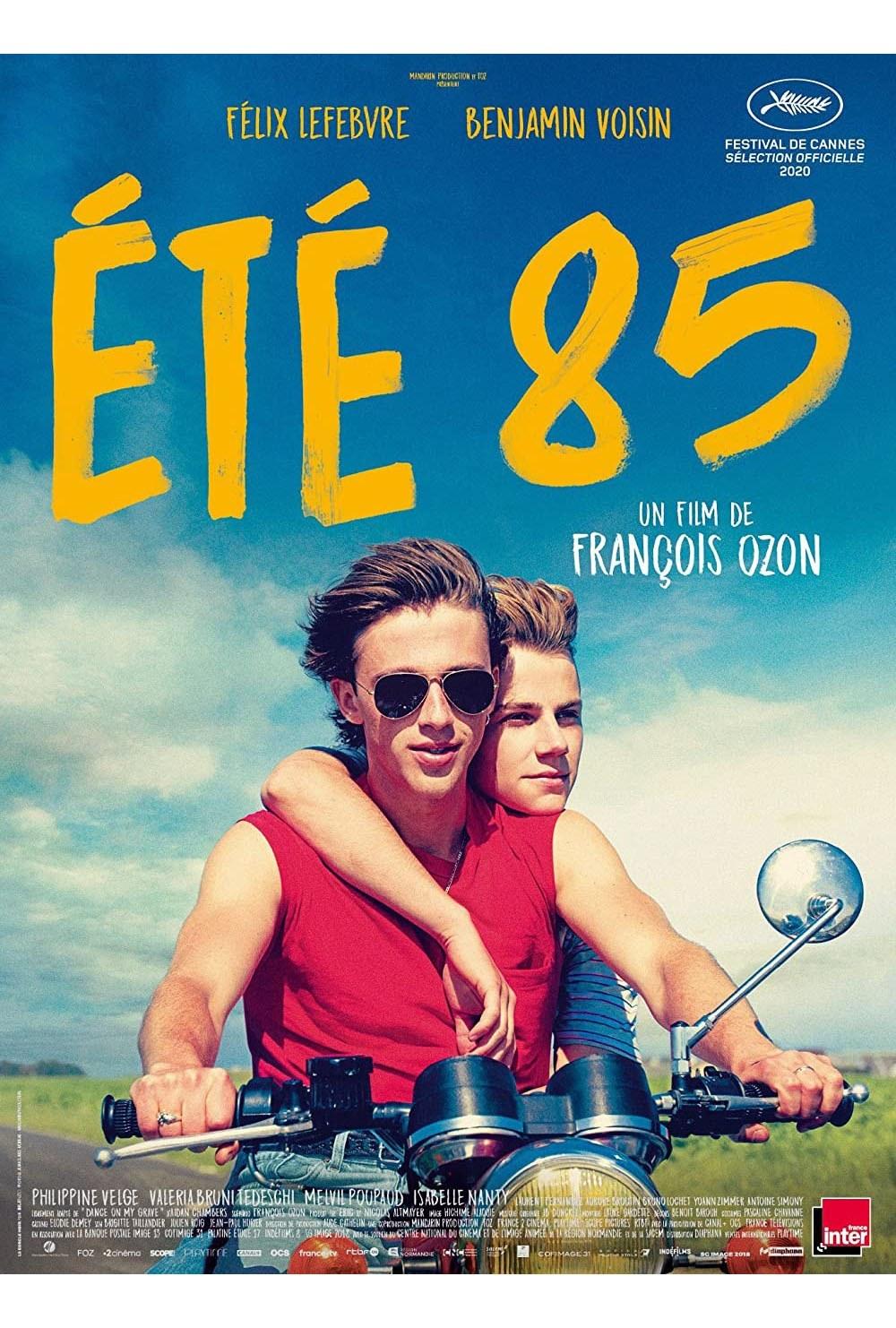 Summer of 85 film poster
