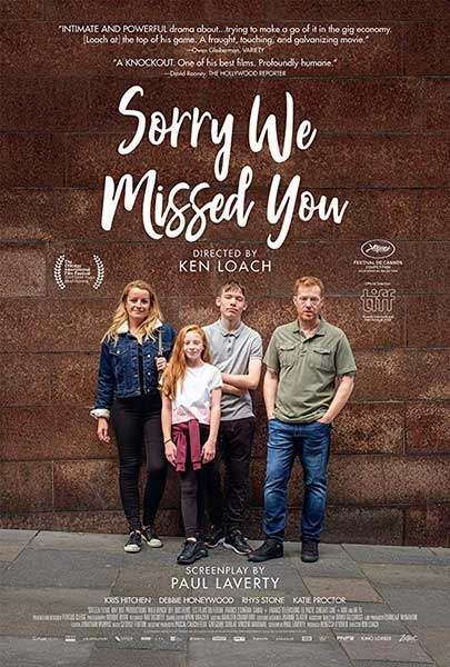Sorry We Missed You film poster