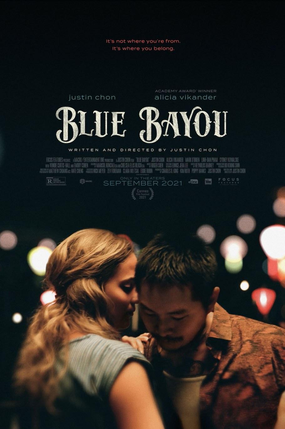Blue Bayou film poster
