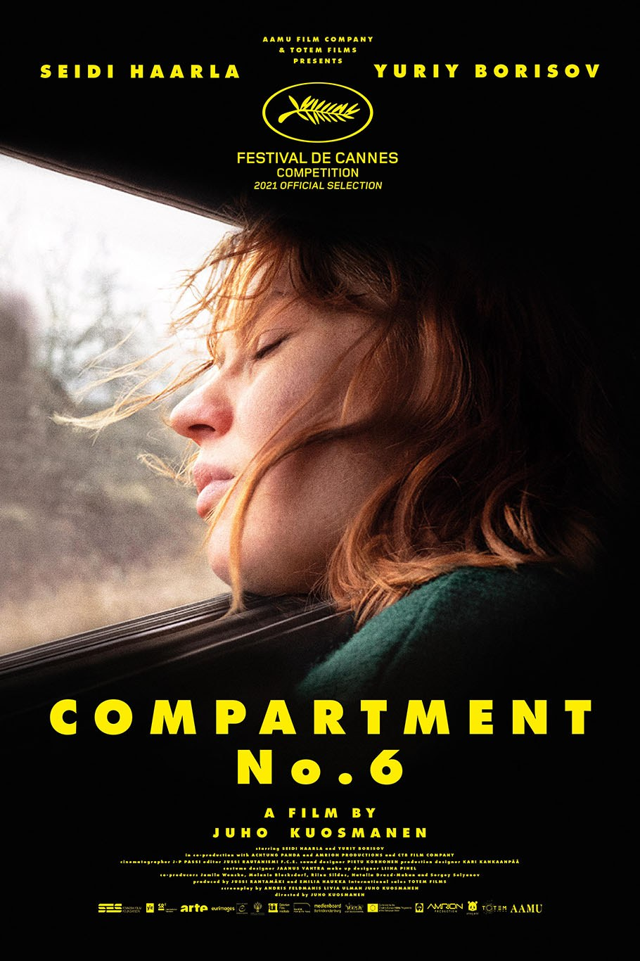 Compartment Number 6 film poster
