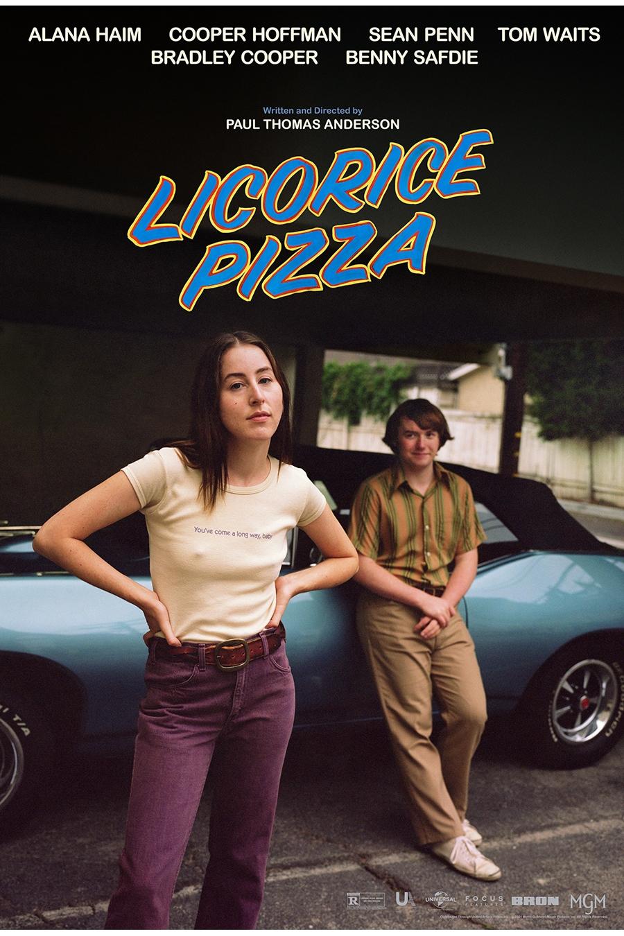 Licorice Pizza film poster