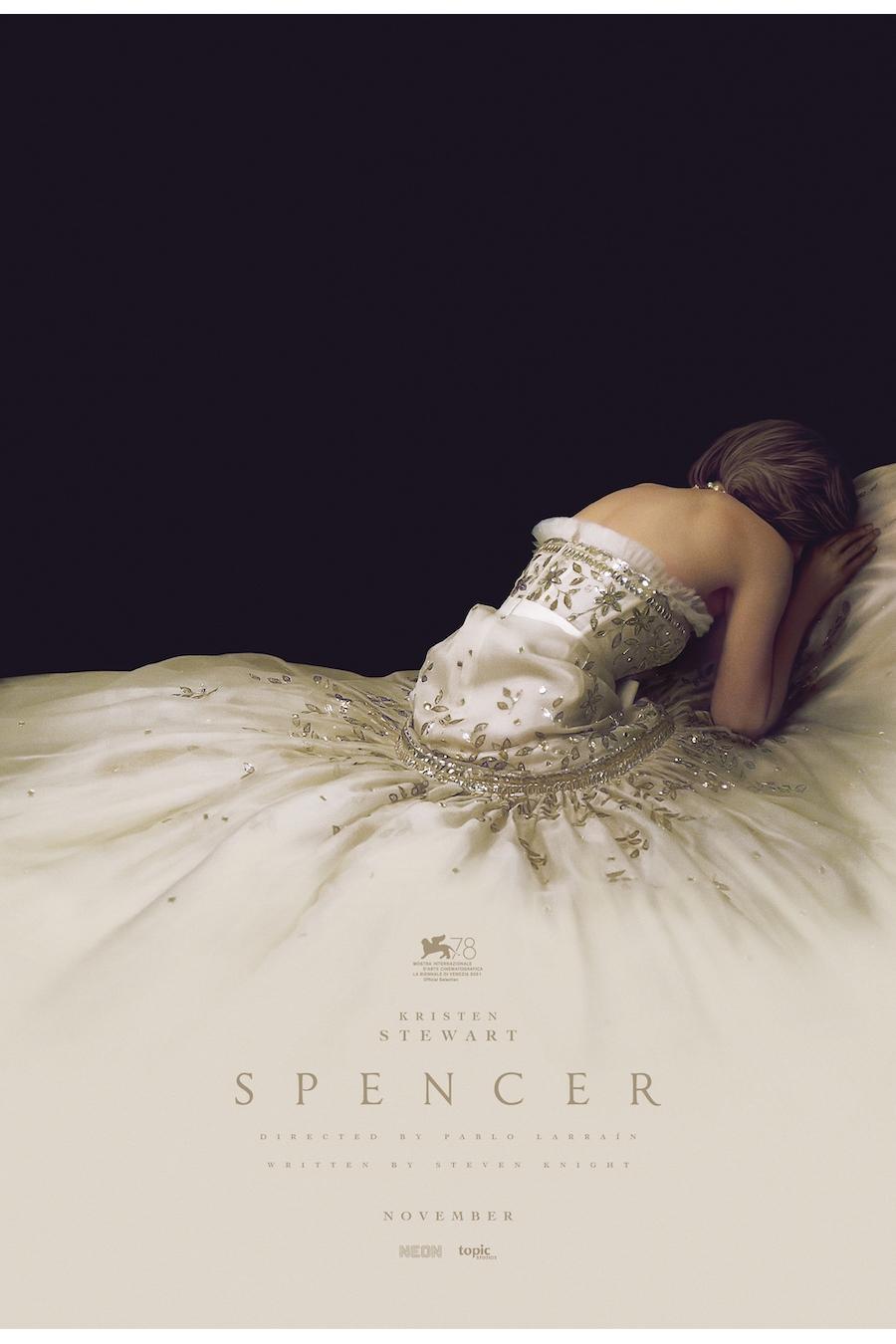 Spencer film poster