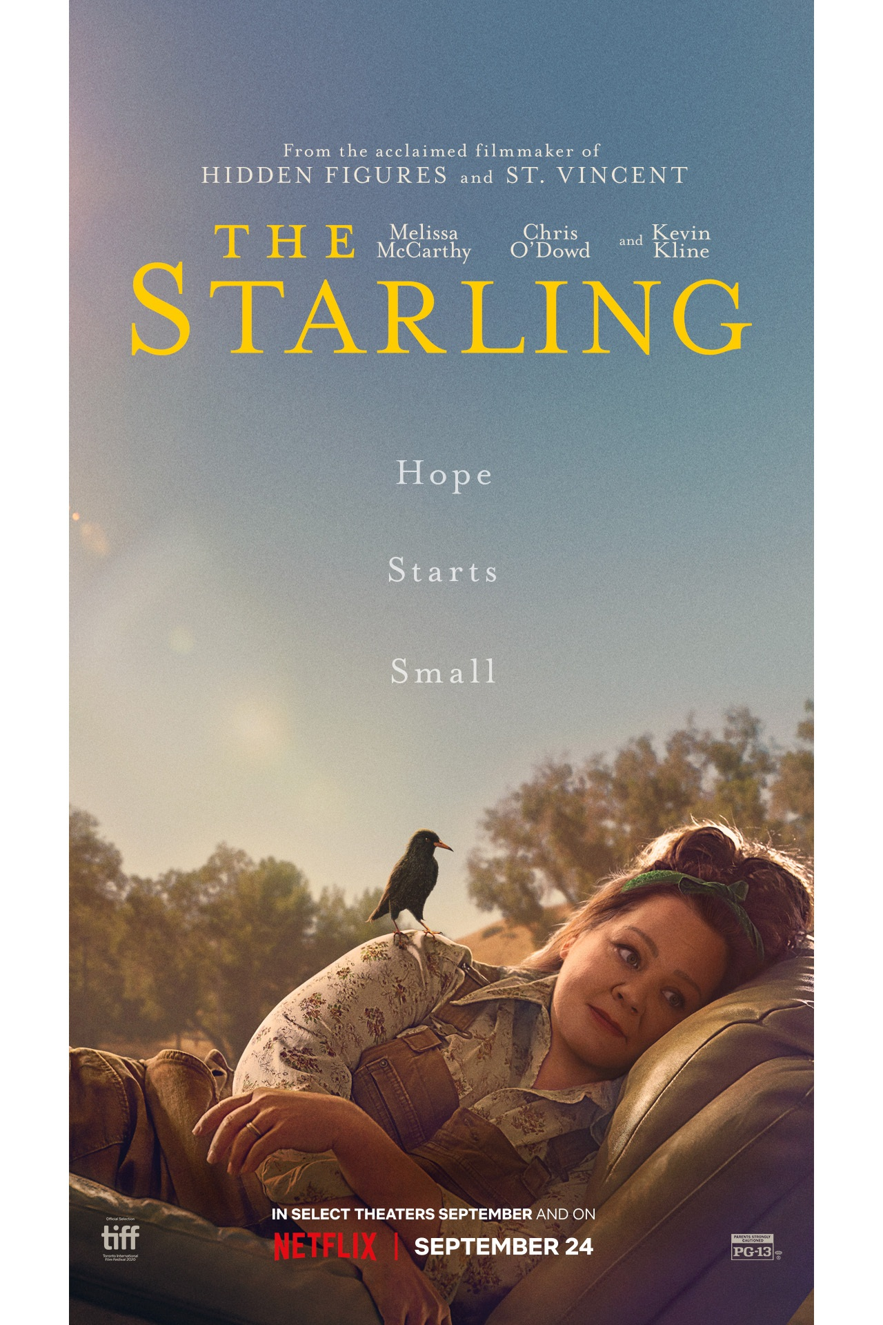 The Starling film poster