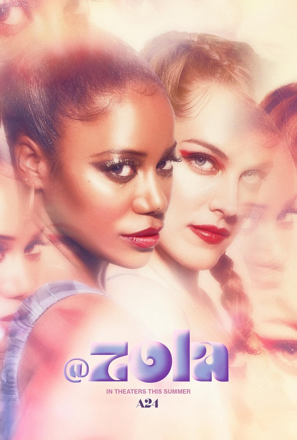 Zola film poster
